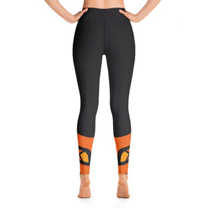 Raised Waist Leggings (LL-Black)