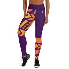 Load image into Gallery viewer, Raised Waist Leggings (ST-Purple)