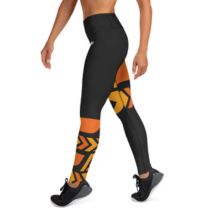 Raised Waist Leggings (ST-Black)