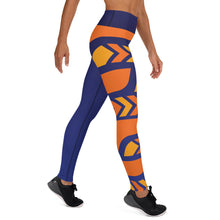 Load image into Gallery viewer, Raised Waist Leggings (SL-Blue)