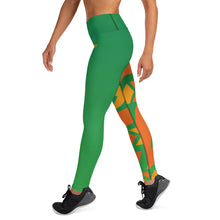 Load image into Gallery viewer, Raised Waist Leggings (SL-Green)