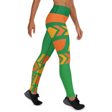Load image into Gallery viewer, Raised Waist Leggings (ST-Green)