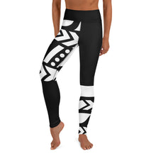 Load image into Gallery viewer, Raised Waist Leggings (ST-Black & White)