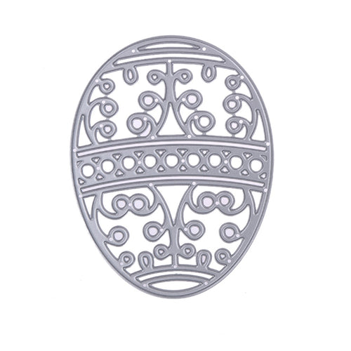 Easter Egg Metal Cutting Dies Stencils Template for DIY Scrapbooking Album Photo Decorative Embossing Paper Card Craft