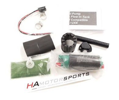 AEM 340 LPH Fuel Pump with Install Kit - HA Motorsports