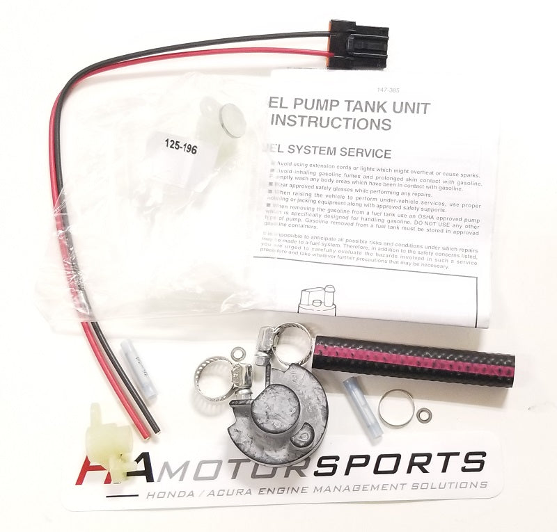 Walbro 400-965 Filter with Install Kit - HA Motorsports