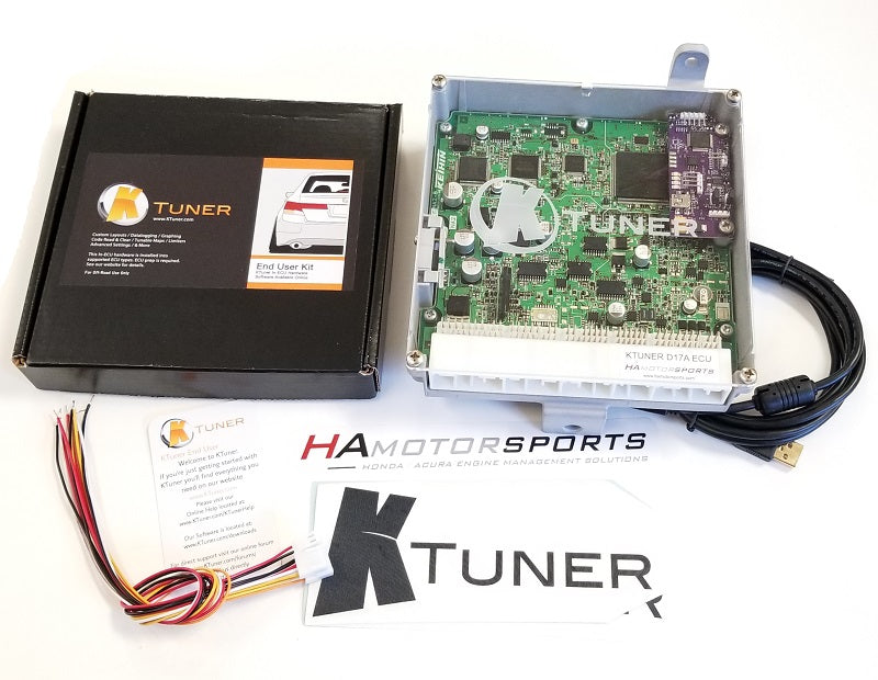 KTuner Revision 1 / 01-05 Civic D17A ECU Package - HA Motorsports
