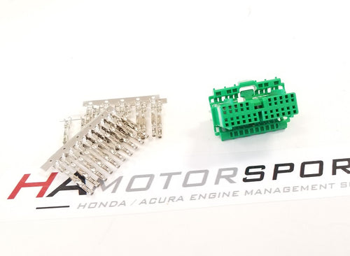 C131 Green Connector Kit - Male