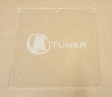 Clear ECU Cover for K Series ECU's with KTuner Logo - HA Motorsports