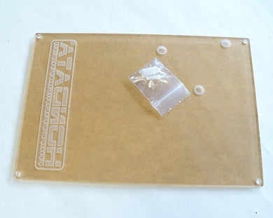 Clear ECU Cover with etched Hondata Logo for OBD1 ECU's with S300 - HA Motorsports