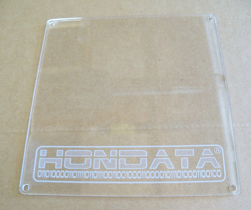 Clear ECU Cover for K Series ECU's with Hondata Logo - HA Motorsports