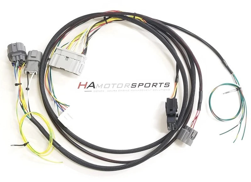 HA Motorsports 99-00 Civic K Series Conversion / Swap Harness [ For KTuner ECU's ]