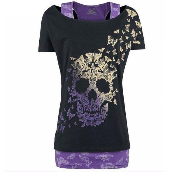 Women Skull head T-Shirt
