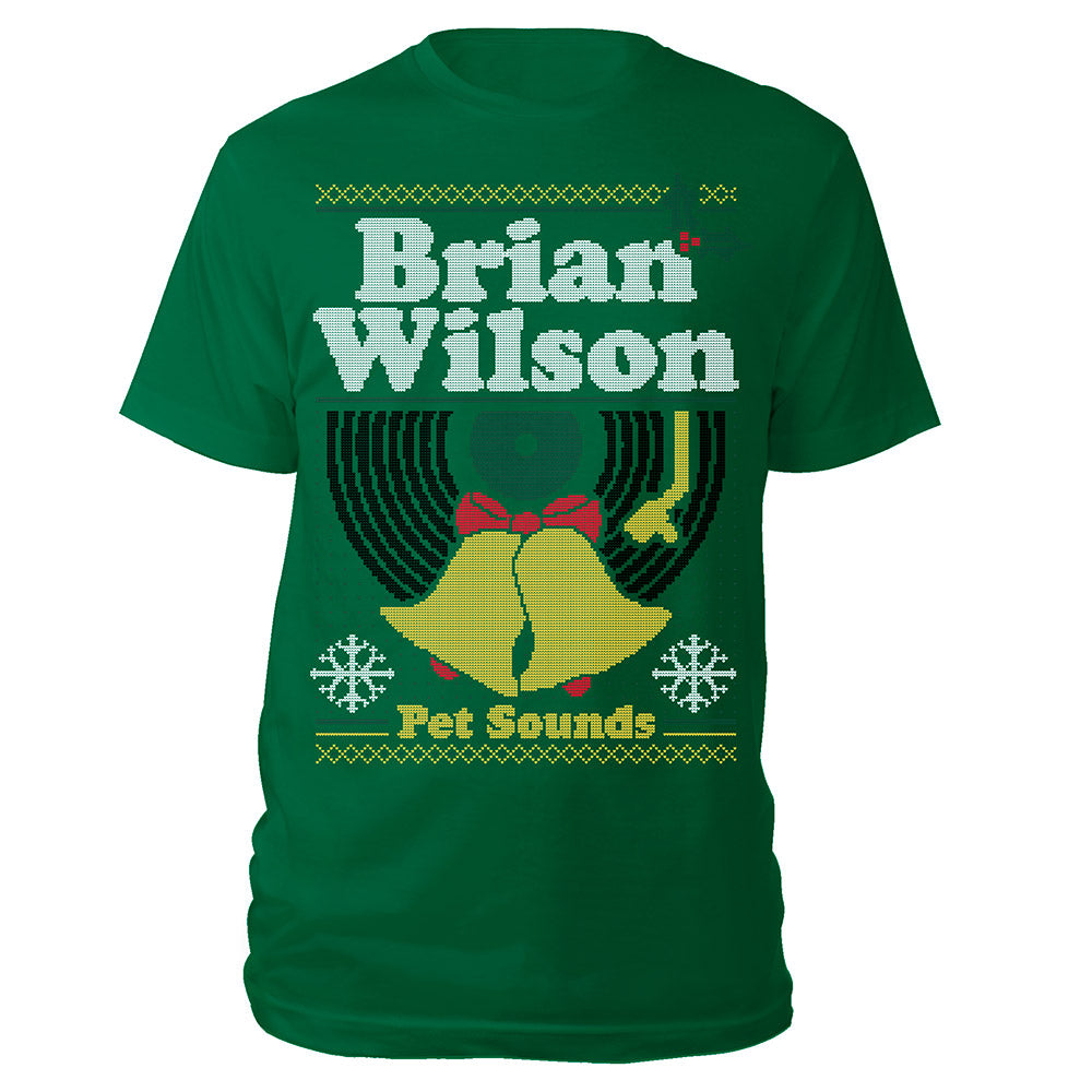 "Brian Wilson Pet Sounds ""Ugly"" Christmas Tee"