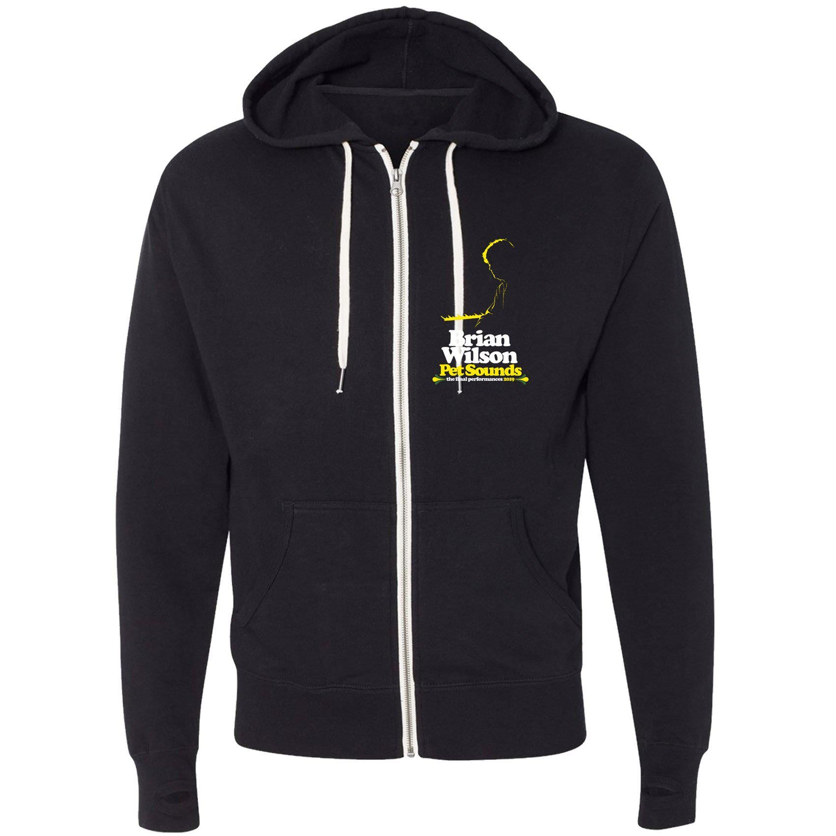 Brian Wilson Pet Sounds 2019 Tour Zip Hoodie-Brian Wilson