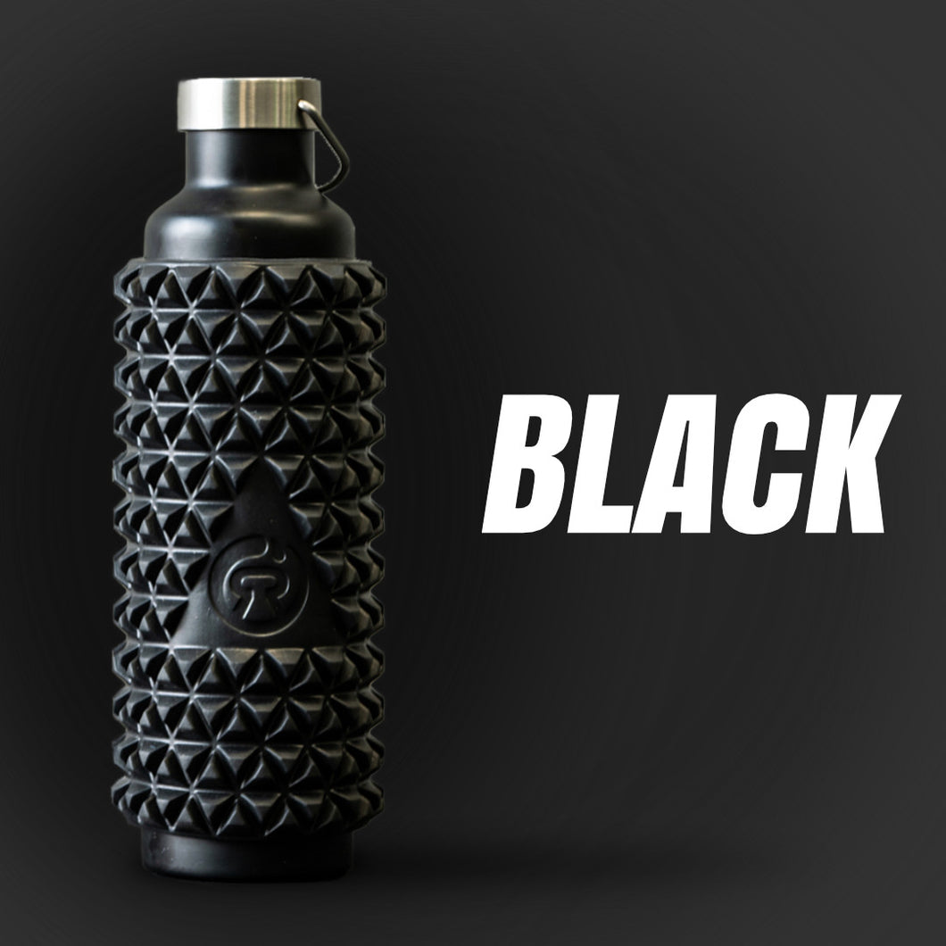 Black - 1L Foam Roller bottle