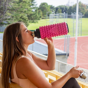 Pink - 1L Foam Roller bottle