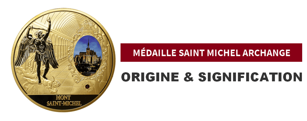 Médaille Saint Michel Archange Signification