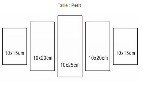 TAILLE TABLEAU CANVAS