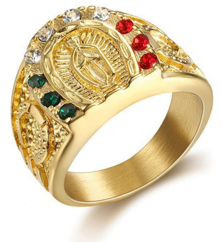 BAGUE-RELIGIEUSE-VIERGE-MARIE-PRIERE-UNIVERSELLE