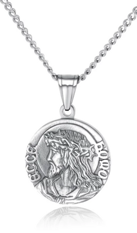 COLLIER MEDAILLE JESUS