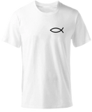 TEE SHIRT POISSON ICHTHUS
