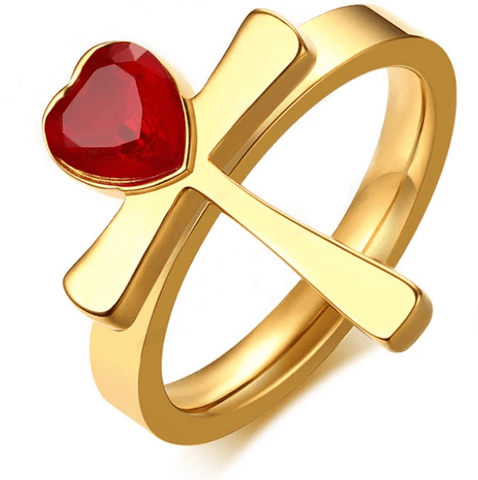 bague-croix-strass-ronde-rouge