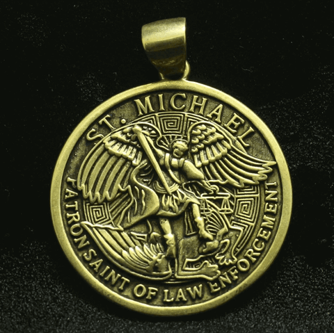 médaille-religieuse-saint-michel-archange-or