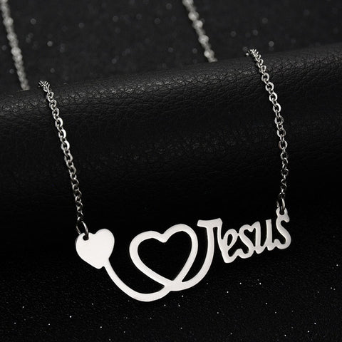 COLLIER I LOVE JESUS