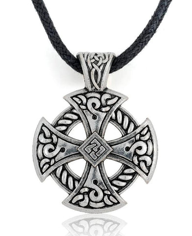 Collier Cordon Croix Celtique