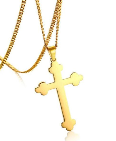 Collier Croix Orthodoxe