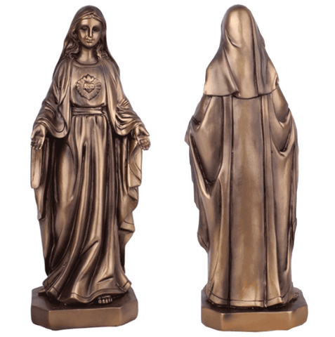 statue-religieuse-notre-dame-miraculeuse-silicone-or