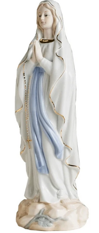 statue-religieuse-vierge-marie-blanche