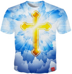 t-shirt croix orthodoxe