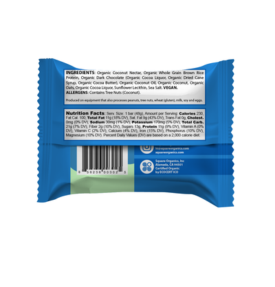 Limited-Time Organic Protein Bar Sampler (6 Bars)