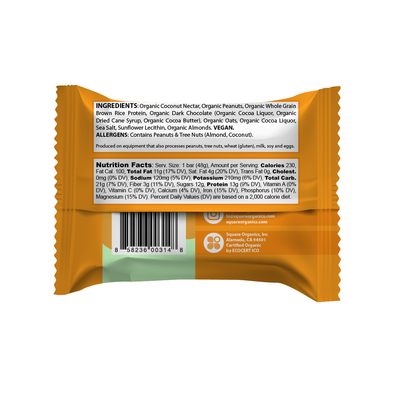 TRY ME Organic Protein Bar Sampler (6 Bars)