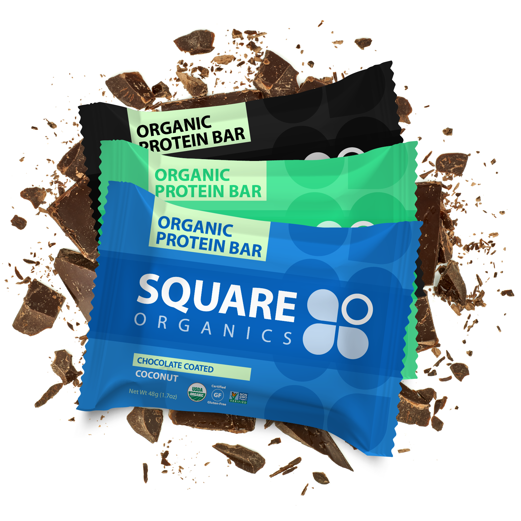 Best Sellers Chocolate Coated Combo - Square Organics