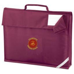 Thameside Book Bag (QD051burgundy)