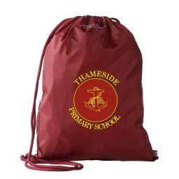 Thameside Gym Sack (BG1010Maroon)