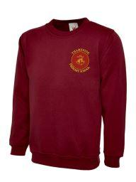 Thameside School Unform Sweatshirt (UC202Maroon)
