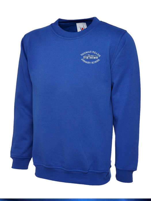 Thomas Reade Primary School Sweatshirt (UC202Royal)
