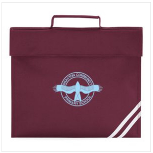 Drayton Primary School Book Bag (QD456Maroon)