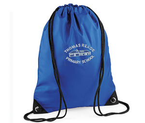 Thomas Reade Gym Sack (Royal BG1010)