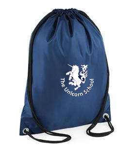 The Unicorn School Gym Sack (QD010Navy)