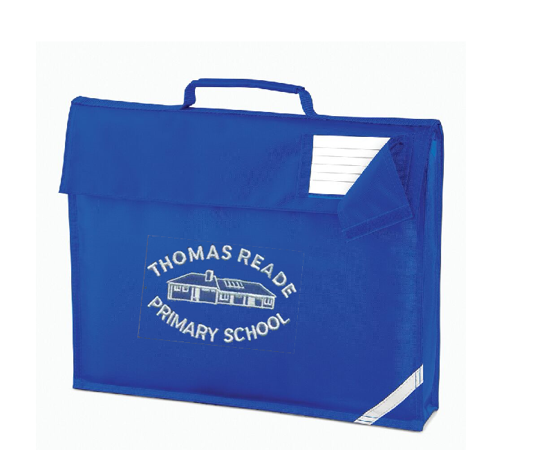Thomas Reade Primary School Book Bag (QD051Royal)