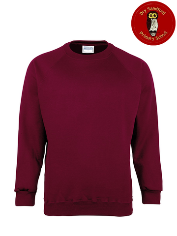 Dry Sandford Primary School Sweatshirt (MD01BMaroon)