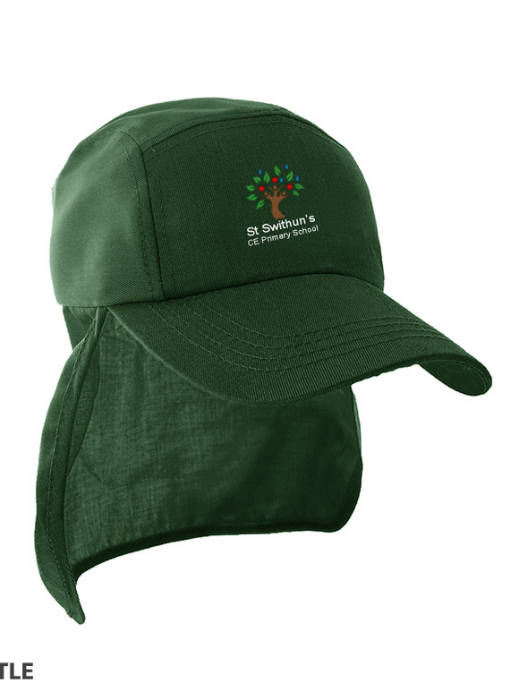 St Swithun's CE Primary School Bottle Green Legionnaires Cap RC69J