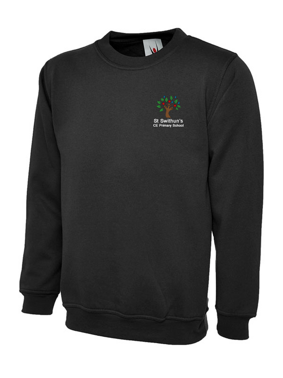 St Swithun's CE Primary School Jumper Black - UC202