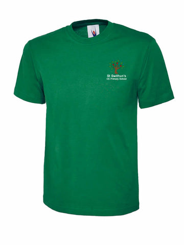 St Swithun's CE Primary School T-Shirt Fuit of the loom (SS031)