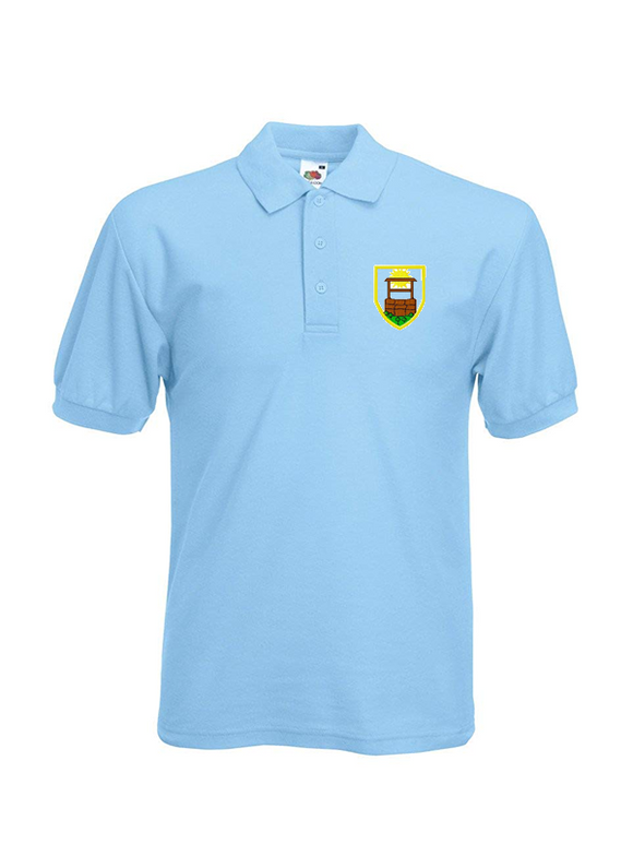 Sunningwell Primary School Sky Blue Polo Shirt (UC103Sky)